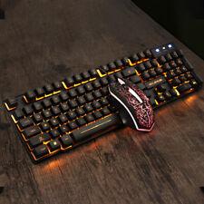 Game Notebook Desktop Computer Wired Luminous Character Luminous Keyboard