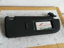 AUDI A6 A7 DRIVER SIDE FACELIFT SPORTSBACK BLACK SUN VISOR 4G0857552 4G0552D
