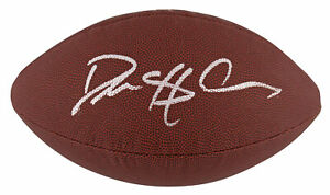 Cowboys Deion Sanders Authentic Signed Super Grip Nfl Football BAS Witnessed