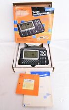 In Box Texas Instruments Voyage 200 Graphing Calculator Financial Computer Work