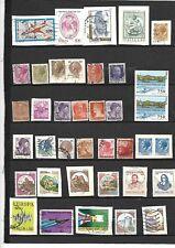 N°482 -très beau lot de 37 timbres d'Italie -oblitérés  dont 4 neufs