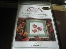"FOXBERRY COTTAGE COUNTED CROSS STITCH 7"" x 7"" 14 COUNT COTTON AIDA CLOTH NEW"