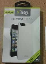 iFrogz White Ultra Lean Cover for iPhone 5