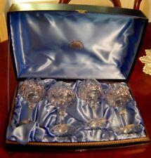 Wine Glass Clear Webb Corbett Crystal & Cut Glass