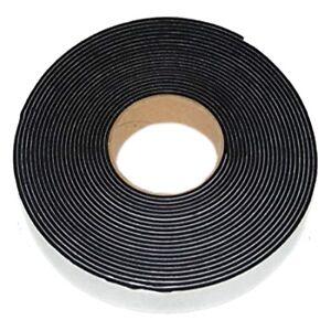 Marine Neoprene Seal Hatch Tape Black