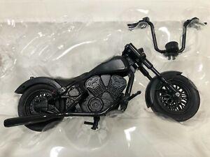 Marvel Legends Punisher MOTORCYCLE from Set Custom Fodder 1/12 Figure Vehicle