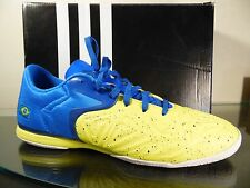 Adidas Men's X 15.2 CT  YELLOW/BLUE Soccer Shoe US SZ 11.5 EUR 46 BRAZIL