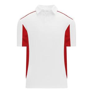 Athletic Knit A1825 Short Sleeve Polo Shirt