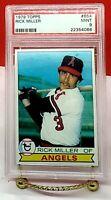 1979 Topps Rick Miller #654 PSA 9