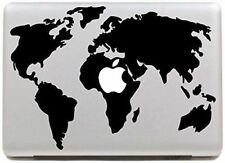 World Map Computer Case Stickers