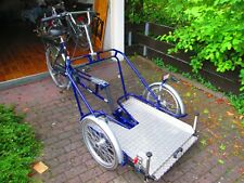 Van Raam velo plus* Elektro Rollstuhltransportfahrrad * Rollstuhlrad