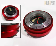 FOR TOYOTA CELICA GT 4RUNNER PICKUP OFFROAD RED STEERING WHEEL QUICK RELEASE