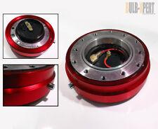 TOYOTA CELICA GT 4RUNNER PICKUP OFFROAD RED SLIM STEERING WHEEL QUICK RELEASE