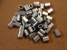 10x Aluminium Talurit Ferrules for 5.5mm / 6mm Steel Wire Rope Stainless Rigging