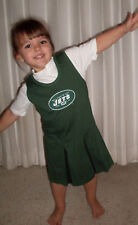 New York JETS Cheerleader Outfit Skirt Girls 5 6 6X NWT Jersey NEW Green