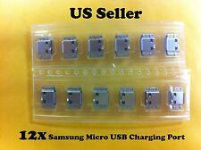 12x Micro USB Charging Port Connector Samsung R720 D700 i9000 i9001 i9220 i8150