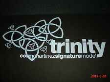 1 AUTHENTIC UNITED TRINITY BMX BICYCLE FRAME STICKER / DECAL #11 AUFKLEBER