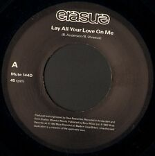 "ERASURE lay all your love on me abba esque 7"" WS EX/ promo jukebox uk MUTE 144D"