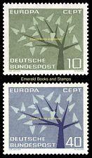 EBS Germany 1962 Europa CEPT Michel 383-384 MNH**