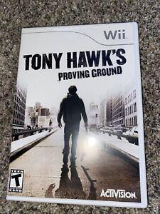 tony hawks proving ground wii