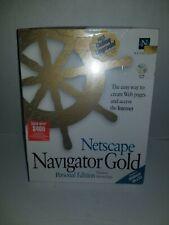 Netscape Navigator Gold Persona CD New old stock