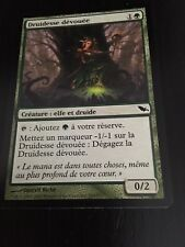 MTG MAGIC SHADOWMOOR DEVOTED DRUID (FRENCH DRUIDESSE DEVOUEE) NM