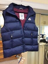 Pyrenex Men's Vest Navy Blu Zipped Down Padded XL BRAND NEW with Tags      $740