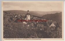 (106221) AK Vielbrunn, Ansicht mit Blick ins Ohrenbachtal 1930