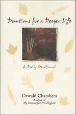 Devotions for a Deeper Life: A Daily Devotional, Good Condition Book, Chambers,