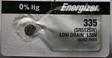 Energizer Watch Battery 335 replaces SR512SW, V325, and AWI S60