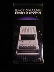 Vintage Texas Instruments Program Recorder New in Box! Never opened!