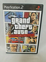 Grand Theft Auto Liberty City Stories (Playstation 2 2006) Complete With Manual