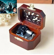Beech Wood Octagon Carving Music Box : Hedwig's Theme Soundtrack