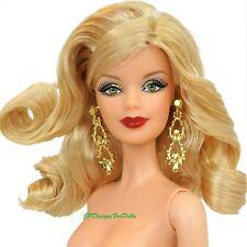 Muñeca Barbie Vacaciones Ojos Verdes rubia modelo Muse (B) Desnuda