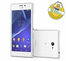Sony Xperia M2 8Gb D2303 4G LTE Android Smartphone White Unlocked GRADE A