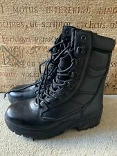 PRO FORCE HIGHLANDER BLACK MILITARY STYLE BOOTS , UK SIZE 4