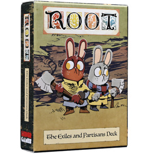 Root: The Exiles and Partisans Deck - NEW Board Game - AUS Stock