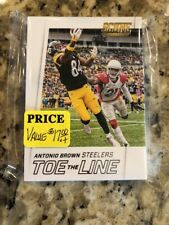2016 Score Football Toe The Line Complete  Insert Set (15)
