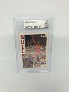 Michael Jordan 1992-93 TOPPS ACHIEVES #52 - Beckett Graded 9 BGS / NBA CARD