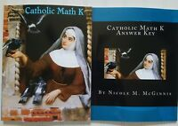 Catholic Math K Workbook or Answer Key ~ Kindergarten Arithmetic ~ Color B&W SJS