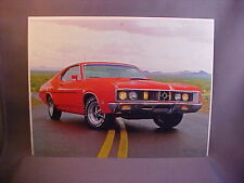 1970 Mercury Cyclone Spoiler 429 full-color calendar art w/backer board to frame
