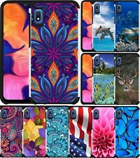 For Samsung Galaxy A10e Case Colorful Slim Dual Layer Hybrid Phone Cover