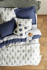💕 ONLY ONE 💕 Anthropologie EASTERN PORT Queen Coverlet Quilt NWT actual pic 👀