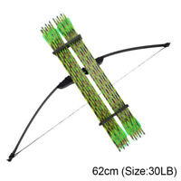Archery 30/40lbs Adult Recurve Bow Takedown Arrows Bow Hunting Shooting Practise