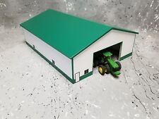 1/64 farm Custom scratch 60 x 80 building green roof white sides
