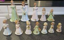 12 Enesco Growing Up Birthday Girls Figures Ages