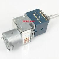 1 pc ALPS RK27 STEREO VOLUME Potentiometer Dual 50K 2x4 8pins peduncular shaft