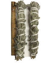 """12""""-13"""" Long Wild California White Sage Smudge Stick  Pack of 2 Free Shipping"""
