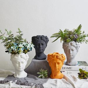 Flower pot Venus Greek Goddess Statue Portrait Flower Vase