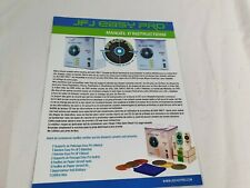 More details for jfj easy pro machine instructions - french - free uk shipping